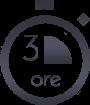 3 ore - black