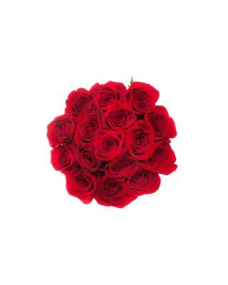 cutie mica rotunda trandafiri rosii walrose