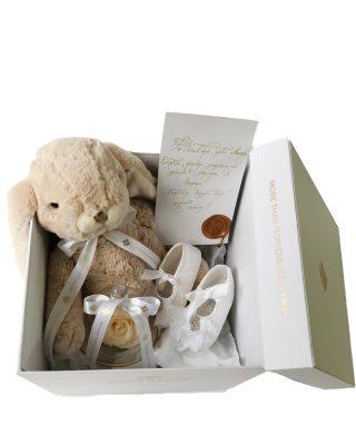 Walrose Baby Gift Box CADOU PENTRU BOTEZ BRASOV WALROSE TRANDAFIR ETERN