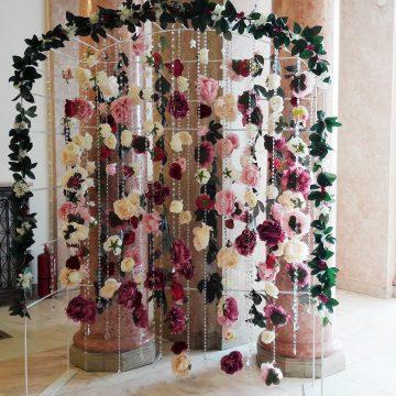 arcada cu flori pentru nunta walrose